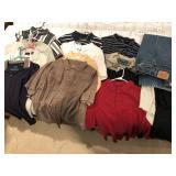 15pcs mens polo style shirts & pants