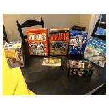 7pcs misc Wheaties boxes & more