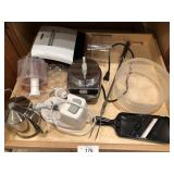 Large lot of misc kitchen items Geroge Forman