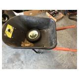 Tru-Temper Plastic wheel barrel
