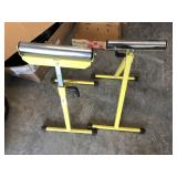 Pair of wood rolling stands