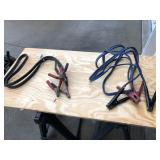 2 pair of heavy duty jumper cables