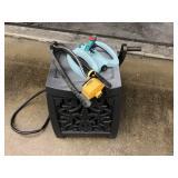 Garden lot, water hose box, 2x sprinkers
