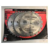 "New Craftsman 10"" Master Combo Blades"