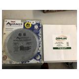 2pcs Avanti Fine crosscut blade & Oshlun blade