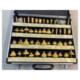 Complete router bit set