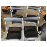 Set of 4 Mid-Century diner chairs