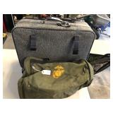 2pcs Luggage, Marine Duffel bag & suitcase