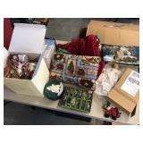 Large lot of Christmas Décor ornaments & more