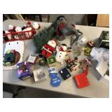 Large lot of Christmas décor handmade ornaments