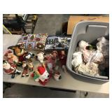 Large lot of Christmas décor misc items