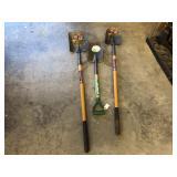 3pcs Shovels