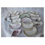 16 pcs. Vintage Misc. China Bone Plates