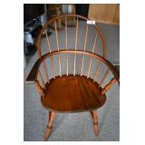 Maple Windsor-style Chair w/ Cushion