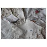 Misc. vintage linens