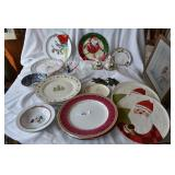 large assortment of of plates and glassware.