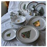 Fun selection of holiday china