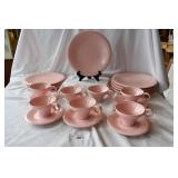 20 pcs Pink Russel Wright melamine set