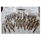 53 pc. Vintage made in japan flatware