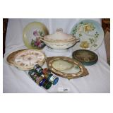 16 pc. Vintage dining essentials