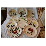14 pc. Of vintage blue ridge dinner plates
