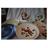 22  pieces of vintage blueridge pottery+