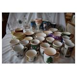 41+ pieces of vintage christmas cups