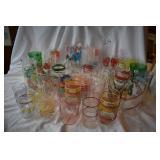30 + vintage swanky swigs. Cups