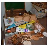 Large Assortment of Dollhouse Repair Items +