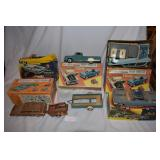 Five vintage car kits