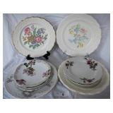 12 pcs Misc. Vintage China Plates