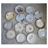 14 pcs Misc. Vintage China Salad & Dessert Plates