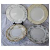 9 pcs. Noritake & Misc. China Plates