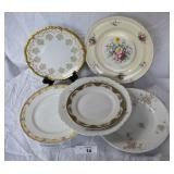 6 pcs. Limoges & Johnson Brothers China