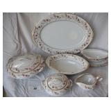 8 pcs. Vintage Nortitake China Serving Dishes