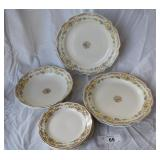 12 pcs. Vintage Misc Serving China