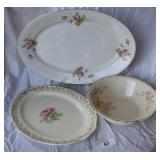 3 pcs. Misc Vintage Serving China