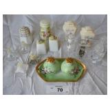 17 pcs. Misc Vintage Salt & Pepper Shakers
