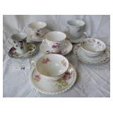 6 pcs. Vintage Tea Cup Sets