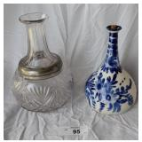 Vintage Pottery & Glass Decanters