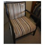 Upholstered Accent Chair w/ Wood Frame