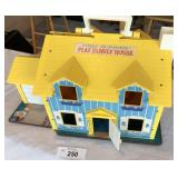 1969 model vintage dollhouse