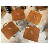 set of four vintage children