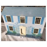 """todays kids"" vintage tin dollhouse"