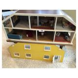 """ludby"" vintage doll house,"
