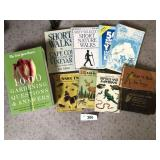 Ten misc. nature themed books