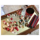 Vintage christmas candles +