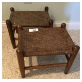One pair of vinatge stools