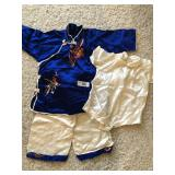 Vintage childs tunic outfit set
