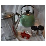 Five pc. Vintage kitchen items
